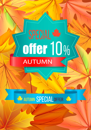Autumn Special Offer 10 Discount on Polygon Label