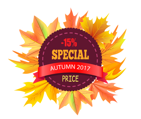 Special Autumn 2017 Price 15 Off Vector Logo Stamp