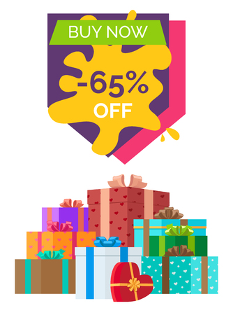 Buy Now Sale Clearance Vector Illustration Illustration