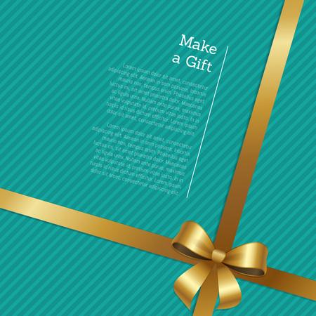 Machen Sie ein Geschenkgutschein oder Grußkartenentwurf Standard-Bild - 90993557