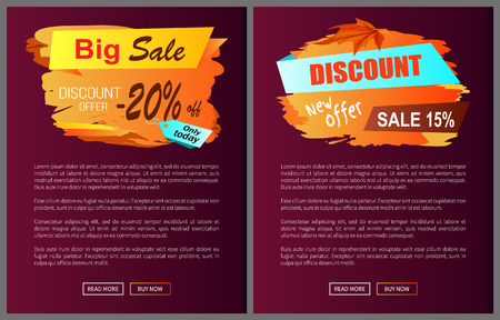Big Sale Discount Offer Only Today -20 Off Autumn