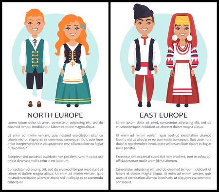 東北ヨーロッパ欧州国籍を衣装します。