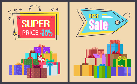Super Price Best Sale Hanging Labels Gift Boxes
