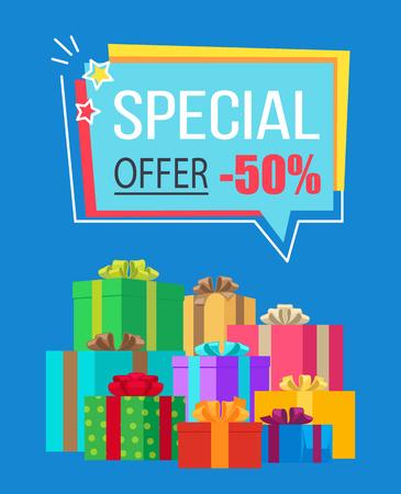 Special Offer Half Price off Vector Illustration Imagens - 90994184