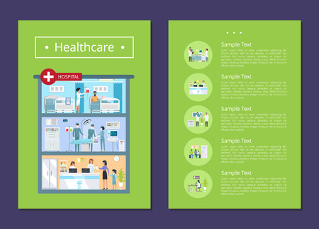 Healthcare Medical Services Vector Illustration