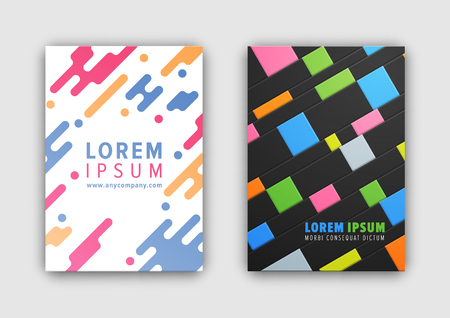 Colorful Cover Collection. Ilustrace