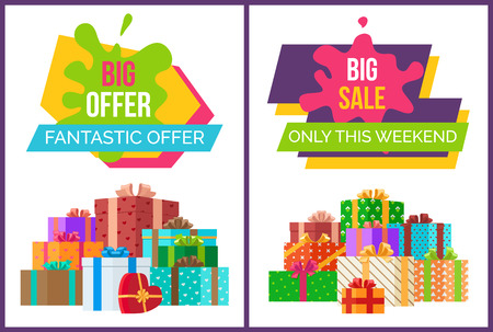 Big Fantastic Sale Offer Only This Weekend Posters
