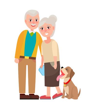 ペット孤立した祖母と祖父