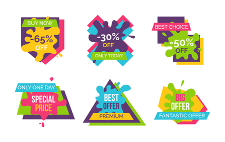 Buy now best choice stickers illustration. Illustration