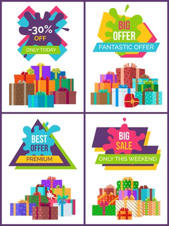 Price Labels Set Premium Quality Hot Sale Posters Illustration