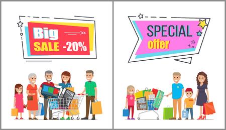大家族のための卸売の購入に大きな販売