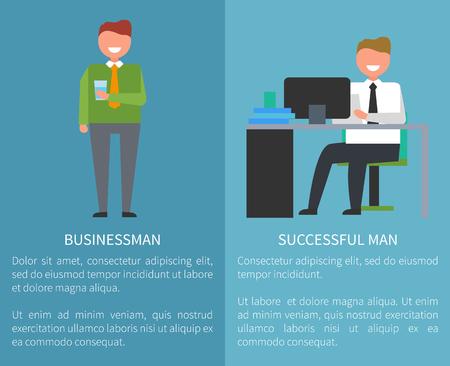 Male entrepreneurs icon.