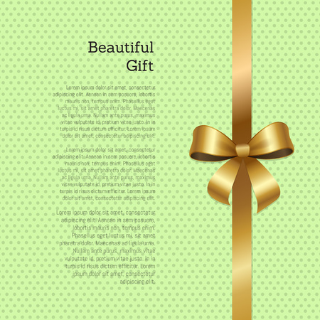Beautiful Gift Certificate or Greeting Card Design