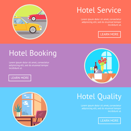 Hotel Service, Booking and Quality Visualization