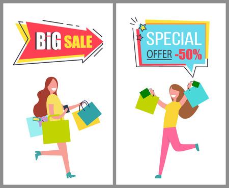 Grande venda e oferta especial somente para produtos femininos Foto de archivo - 91758578