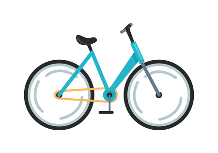 Bicycle Icon Colorful Vector Illustration Stock Photo