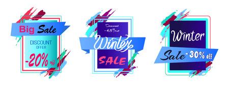 Big Sale Discount -45 Off Vector Illustration