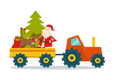 Santa Claus on Strong Model of Modern Transport