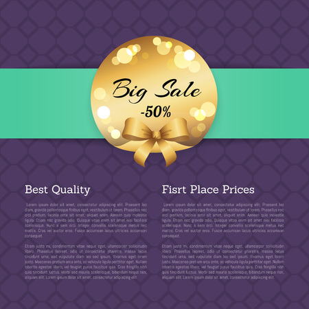 Big Sale -50% vector illustration