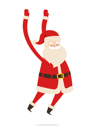 Santa Claus Cartoon Xmas Character Vector Icon Stock fotó - 91962361
