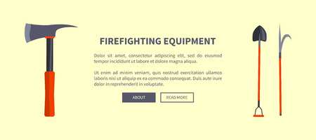Set of Special Isolated Fire Protection Equipment