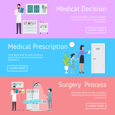 Medical Decision, Prescription and Surgery Process template
