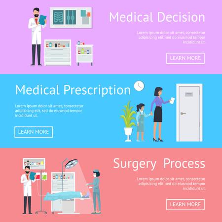 Medical Decision, Prescription and Surgery Process template