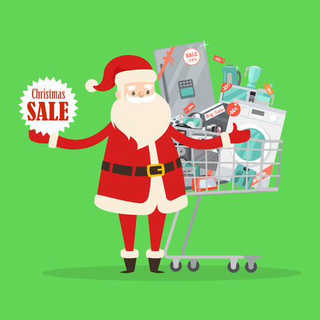 Christmas sale icon. Illustration