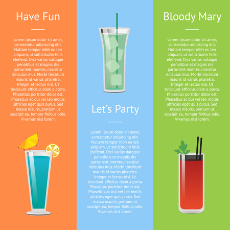 Let s Party and Have Fun with Bloody Mary Cocktail