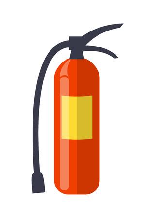 消火器孤立イラスト