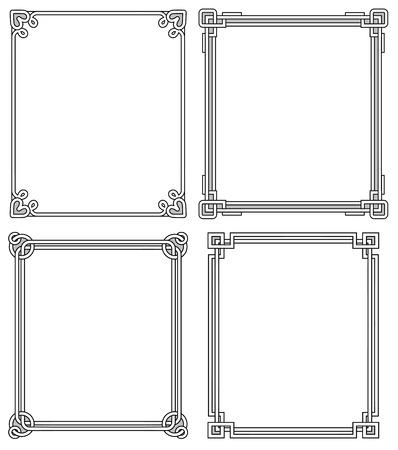 Frames Vintage frame design.