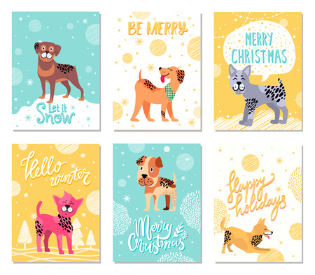 Let It Snow and Be Merry on  Illustration.