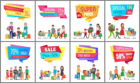 Sale Low Price Special Discount Super Choice Card Stock Vector - 93482410