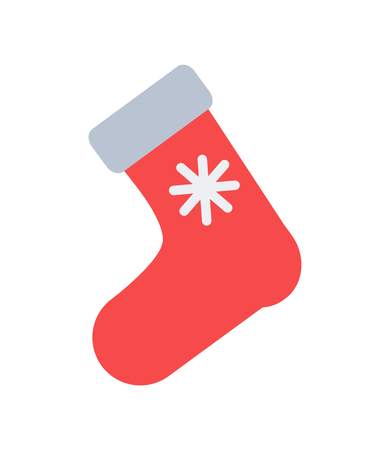 Santa s Red Sock for Putting Christmas Presents