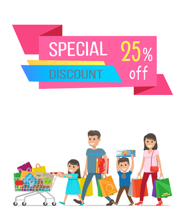 Special Discount Sale Banner Vector Illustration