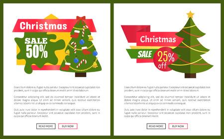 Christmas Sale 55 Off Card Vector Illustration Illustration