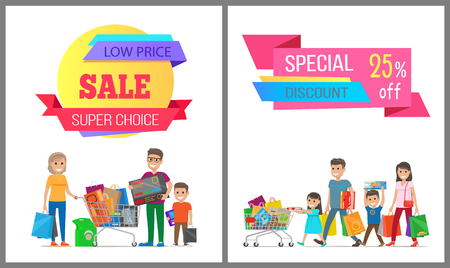 Special Discount Low Price Super Choice Posters. Illustration