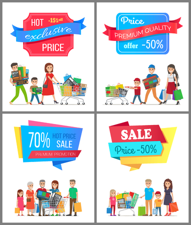 Sale Low Price Special Discount Super Choice Card Stock Vector - 94238267