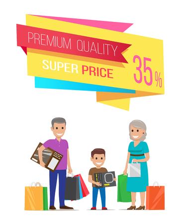 Premium Quality Super Price Vector Illustration