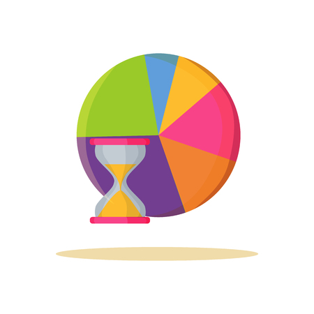 Multicolored Graphic Banner Vector Illustration