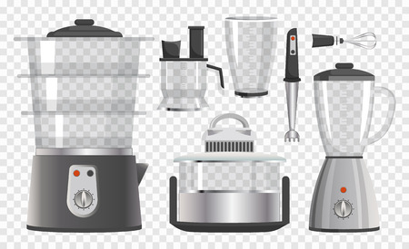 Various Kitchen Instruments Vector Illustration