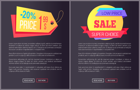 Best Product Hot Exclusive Price Web Poster Vector illustration. Illustration