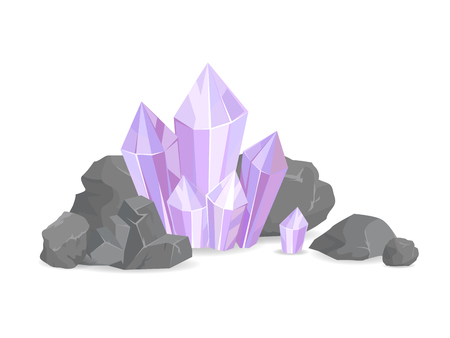 Natural Resources and Minerals Vector Illustration 向量圖像