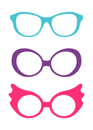 Spectacles Accessory Collection Vector