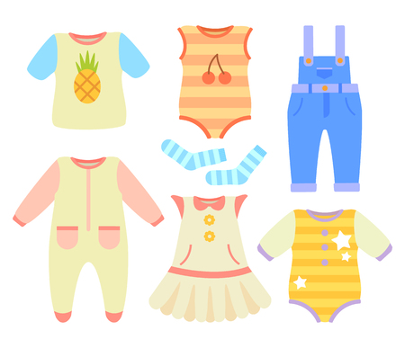 Baby Clothes for Boys and Girls of Natural Fabric