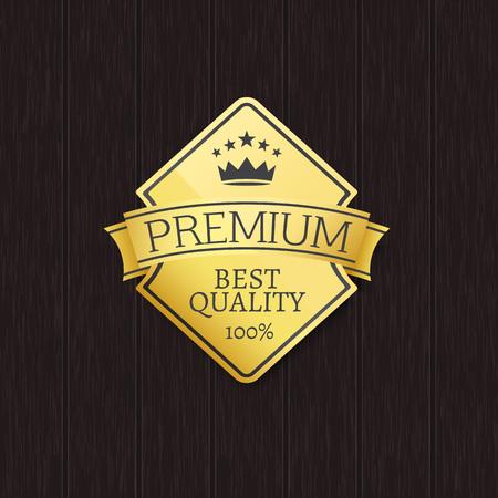 Best Quality 100 Golden Label Premium Choice