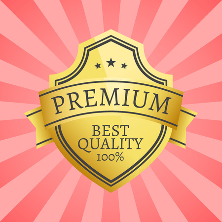 100 Best Quality Golden Label Topped by Star Gold