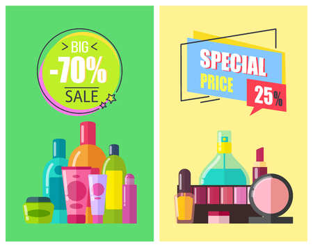 Special Price Big Sale Color Vector Illustration Illustration