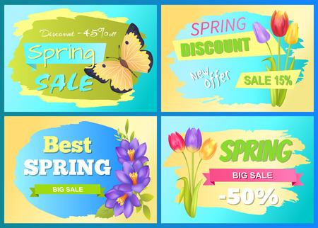Best Offer Spring Sale Advertisement Poster