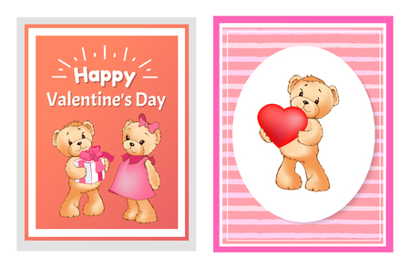 I Love You and Me Teddy Bears Vector illustration design. 向量圖像
